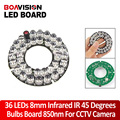 45 Degree IR Board 36 LEDs Infrared Bulb for CCTV Camera