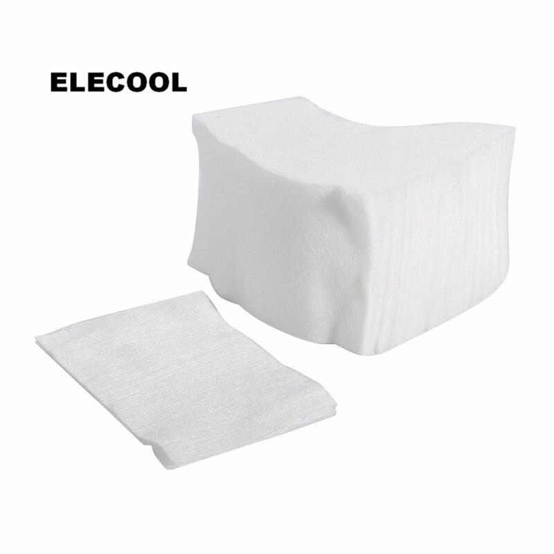 ELECOOL 100pcs Facial Clean Cotton Pads Pure Cotton Makeup Sponge Cleaning Pads Facial Cosmetic Tools