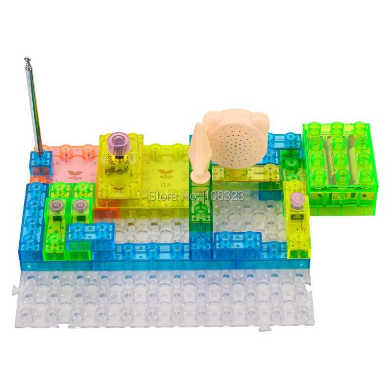 Entegre Elektronik Yapı Taşları Monte 120, Elektronik Oyuncak, - Yapı ve İnşaat Oyuncakları - Fotoğraf 2