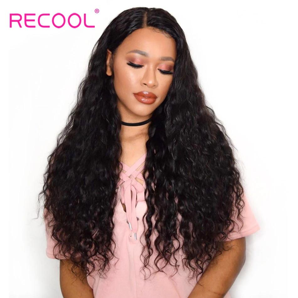 Recool Hair Peruvian Hair Water Wave 4 Bundles Natural