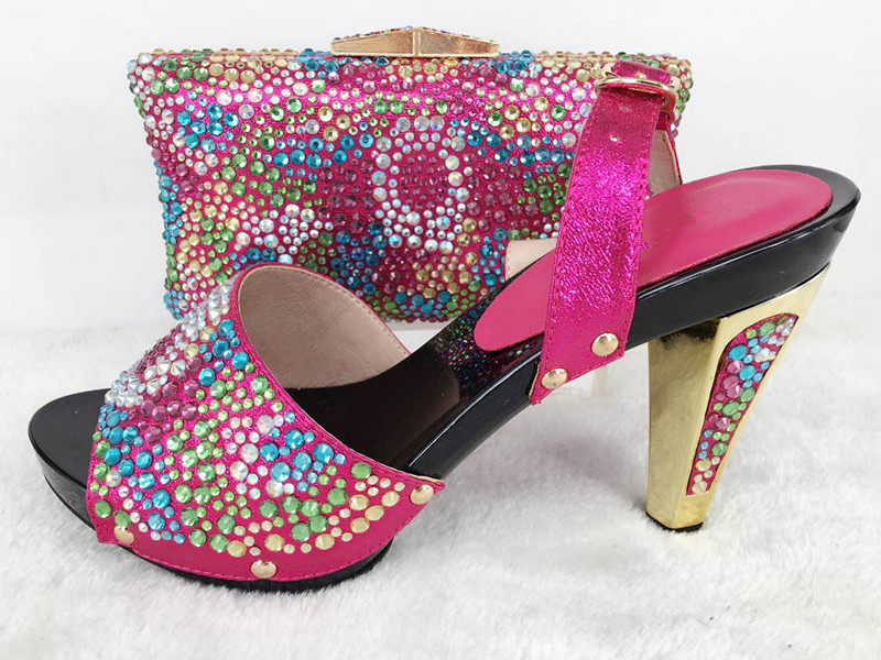 NEW 2017 Beautiful Italian Shoes With Matching Bags To ...