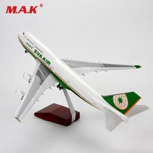 For Collection 1/150 Scale Airplane Boeing B747 Model Airlines Plane Model Aircraft with Stand Sound & Light Model Kid Gift