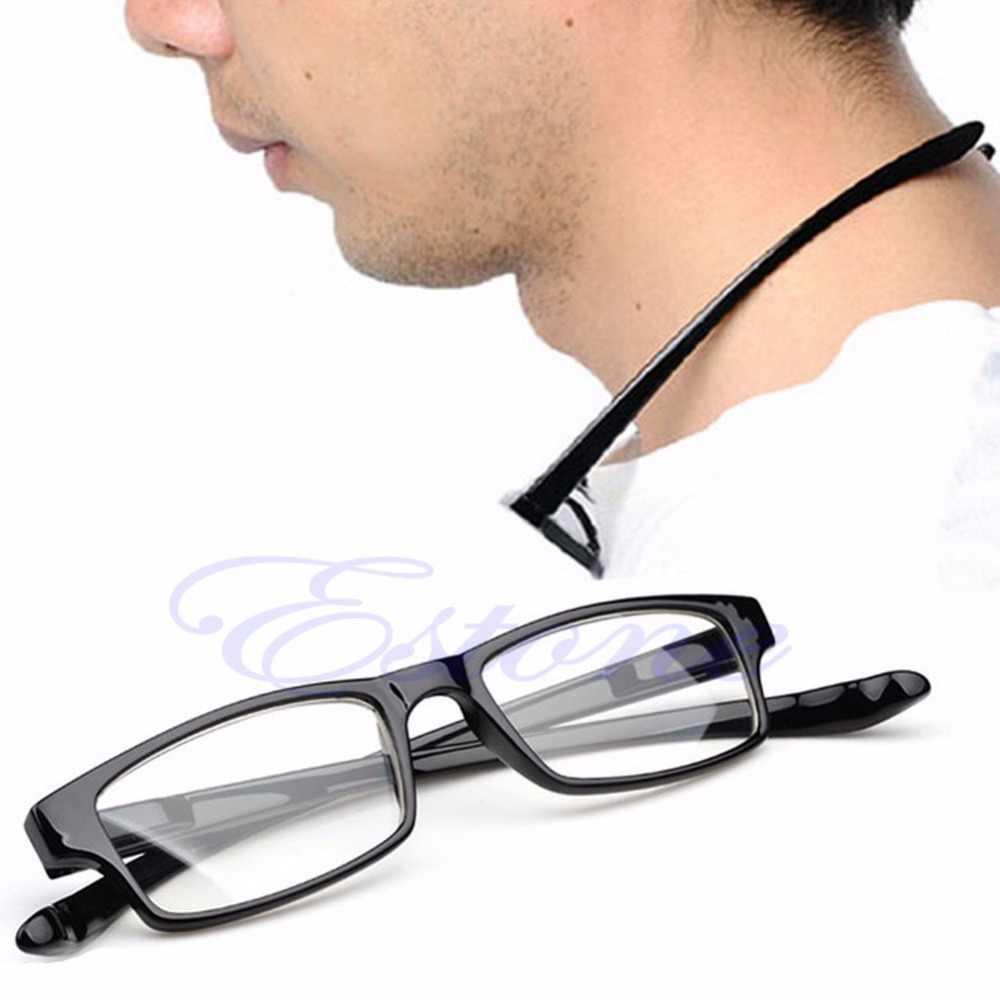 Moda de Nova 1 Pc Mulheres Homens Retro Rodada De Óculos Para Presbiopia Óculos de Leitura Armação de Metal Personalidade de Alta Qualidade