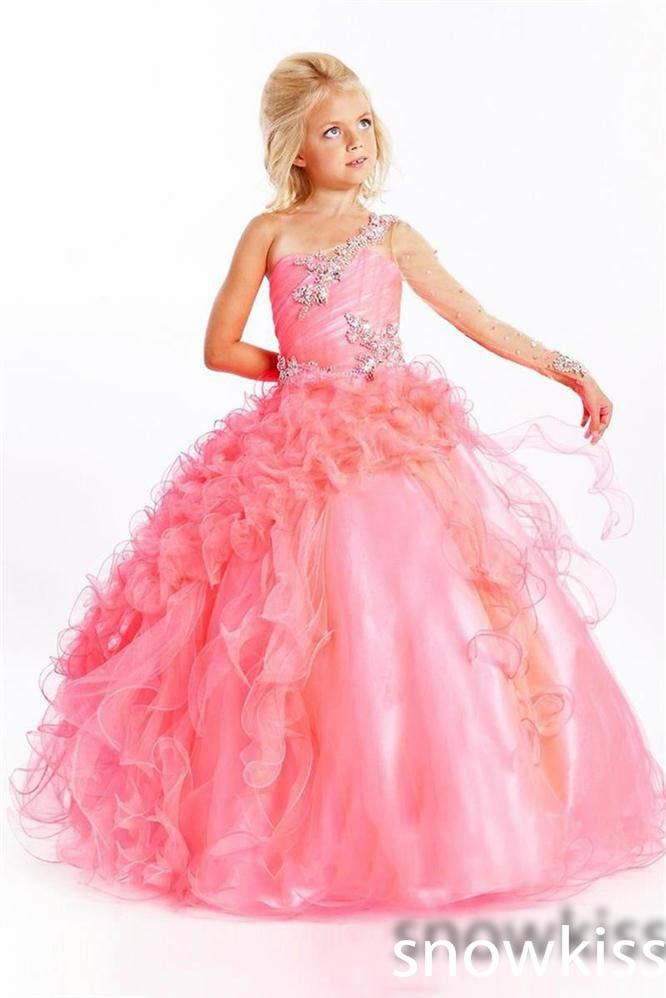 Online Get Cheap Pink Sparkly Dresses for Girls -Aliexpress.com ...