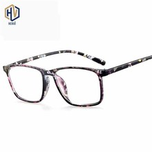 Classic Fahion Square Optics Glasses Frame Men Women Retro Printing Spectacles Frames Prescription Eyeglasses