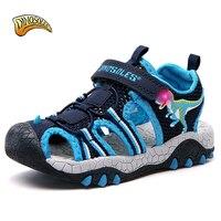 Baby Boys Sandals 3D Dinosaur Sandals Kids Light Up Toddler Beach New 2019 Summer Shoes Casual Children's Sandals