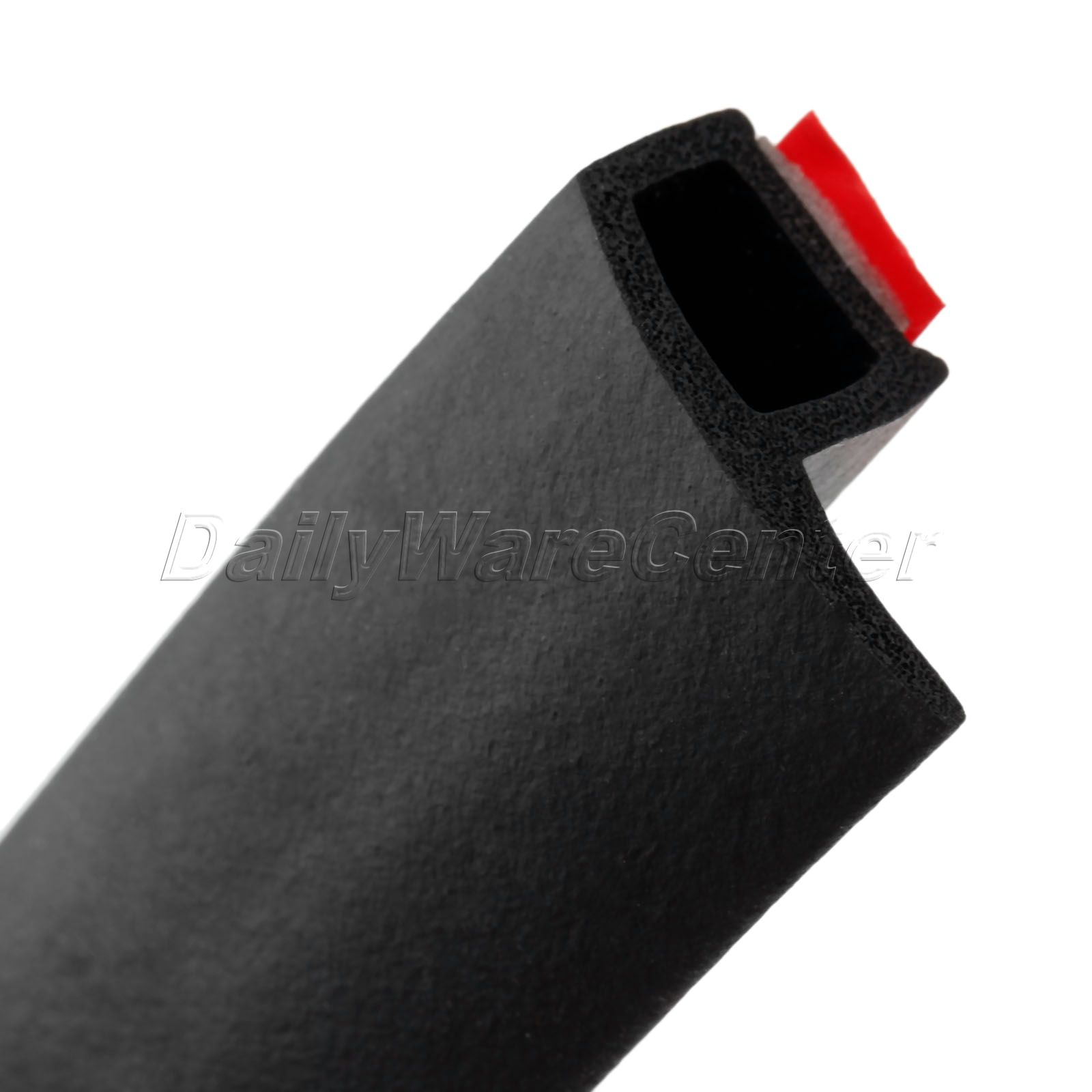 4 Meter P Type Car Door Seal Strips Rubber Soundproof Noise Insulation Sealing Strip Weatherstrip Edge Trim Waterproof Adhesive in Fillers Adhesives Sealants from Automobiles Motorcycles