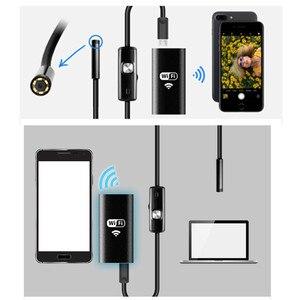 Image 4 - KERUI Wireless Impermeabile Morbido Cavo Periscopio Micro 8 millimetri 720P HD WiFi Endoscopio USB Della Macchina Fotografica per IOS iPhone Android telefono