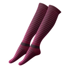 Men Elastic Compression Long Socks Warm Breathable Anti Slip Protection Ankle Fashion Casual Socks
