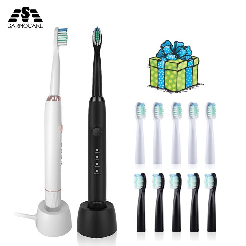 Купить ультразвуковая электрическая зубная щетка sarmocare m100 дорожный