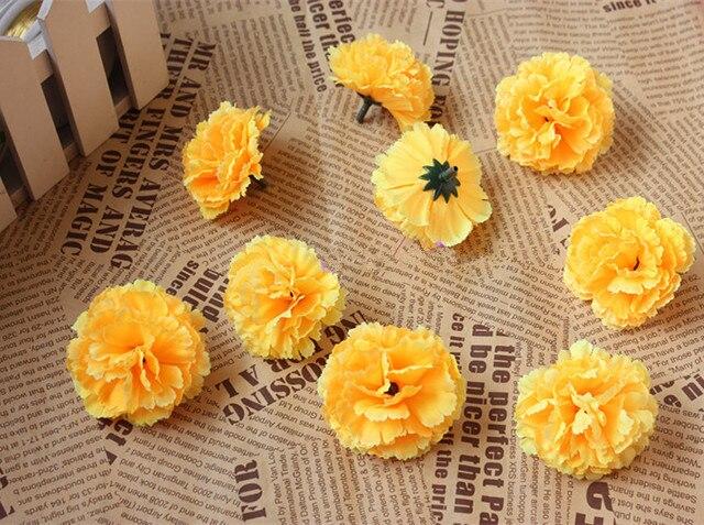 5cm artificial carnations decorative flowersilk flower lilac 5cm artificial carnations decorative flowersilk flower lilac flowers for diy wrist corsagekissing mightylinksfo