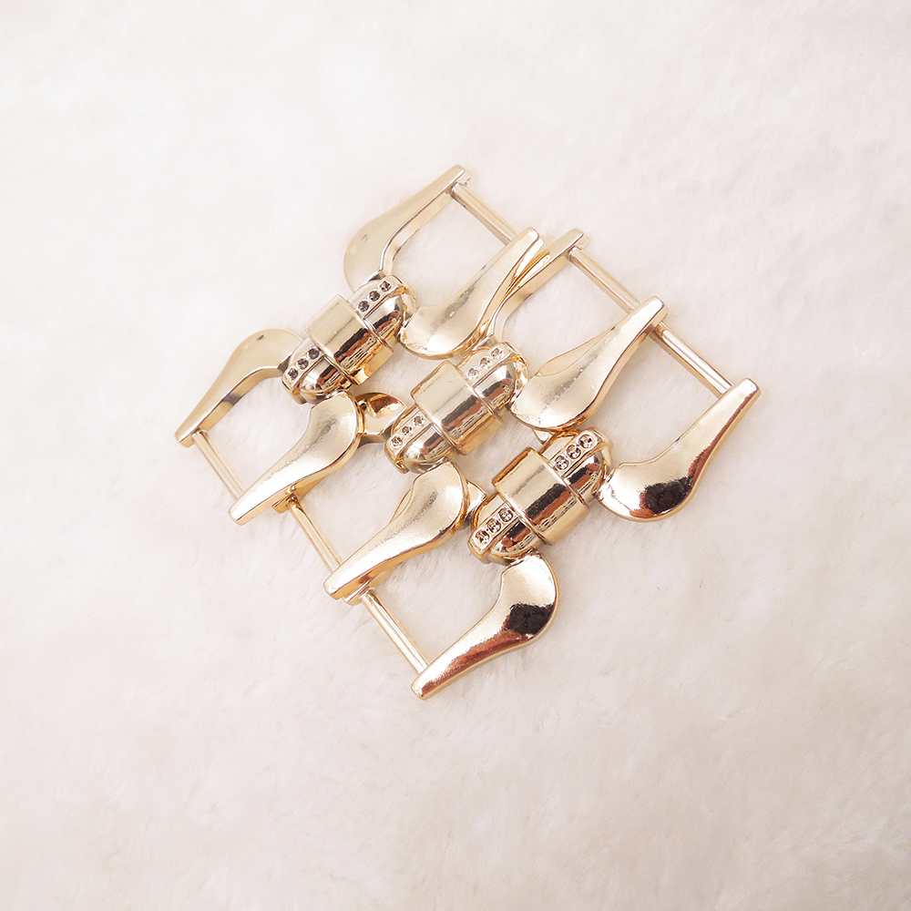 62/28mm,10pcs uv plated rose gold no fade ribbon buckles acessories Invitation Ribbon Slider Headband Hair Clip DIY