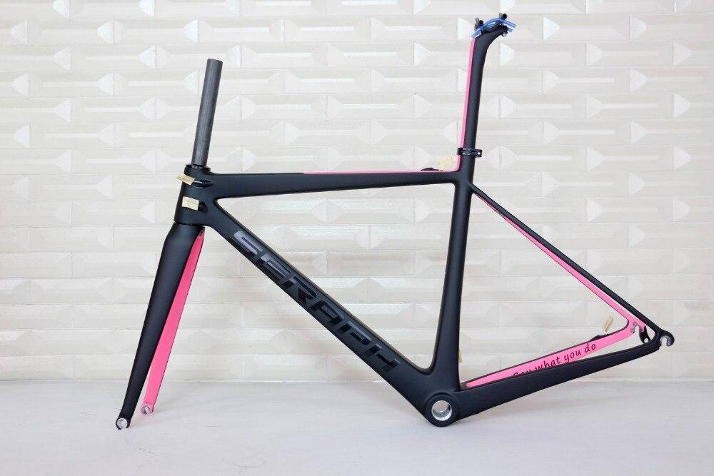 SERAPH Carbon Road Bike Frame, Road Bike Frame,Chinese Road Bike For Sale No Tax Carbon Frame , Accept Paint Frame