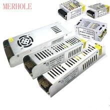 Merhole driver driver 12v fonte de alimentação ac220 to dc12v/dc24v 1a 2a 3a 4a 5a 8a 12a 16a transformadores adaptador de iluminação led 20a 30a