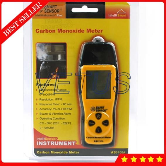 AS8700A Digital carbon monoxide gas analyzer CO concentration analyzer Carbon monoxide gas detector detector tester