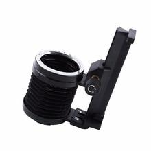 Макро Удлинитель сильфонная трубка объектив штатив крепление Удлинитель для Canon для EOS EF крепление для фокусировки камеры