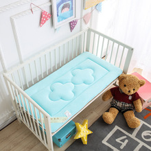 baby bed mattress Safe Baby Cot Top Changer Mat Padded Cot Bed children bed mats Newborn Baby cotton Sheet Washable Compact promotion 9pcs full set cot baby bed linen 100