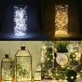 20 LED String Fairy Lights Operated Xmas Christmas Tree Party Decor Warm White