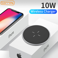 Qi Wireless Charger,Torras 10W Fast Charger for iPhone Samsung Wireless Charging Pad for iPhone x 8 Galaxy S8/S7 Nexus5 Lumia