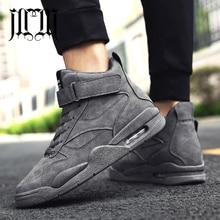 MumuEli Air Cushion Green Gray Black 2019 High Top Quality Shoes Men Casual Designer Fashion Luxury Winter Male Sneakers K618