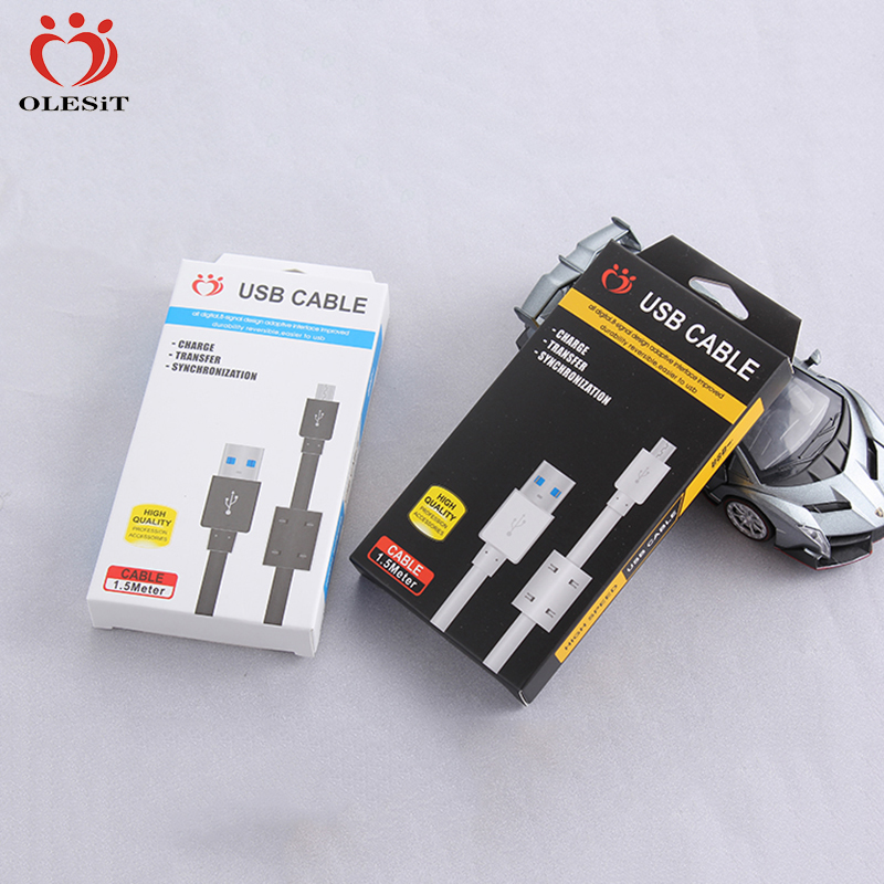 50pcs/lot OLESiT UNS-K102/K105/K107 1.5M 2.1A High Quality Phone Accessories Magnetic Ring Cable For iPhone Samsung HTC LG Etc.