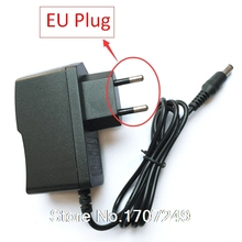 AC 100V-240V Converter Adapter DC 12V 1A Power Supply EU Plug 5.5mm x 2.1mm 1000mA