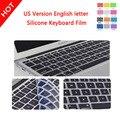 На Продвижение Защитная Пленка для Apple Macbook Air Силиконовая Кожа Ноутбук 11 дюймов версия США Английский Клавиатура Защитная Крышка