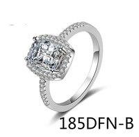 אירופאי תכשיטי טבעת צלב אישה Peishi תרגיל זירקוניום מרובע שי קישוטי 185DFN jiezhi לאספקה של סחורות