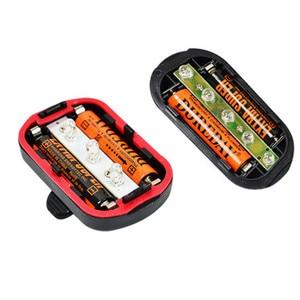 Image 4 - 5LED  battery power Indicator light Strobe Signal warning lights led safety Alarm mountain bike Tail Lamp outdoor lighting