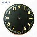 Parnis 38.9mm Fit 6497,6498 Movimento Marrom Mostrador do Relógio