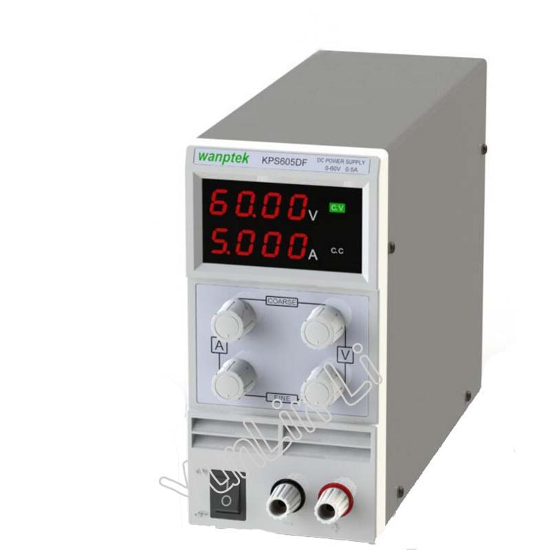 0 60V/0 5A DC Power Supply 110V 230V 0.1V/0.001A LED Digital Adjustable Switch Voltage Regulators KPS605DF