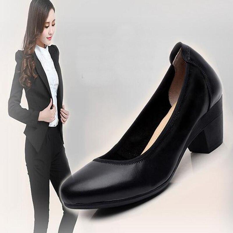 2017 new women pump plus size shoes 43 42 41 high heel mature