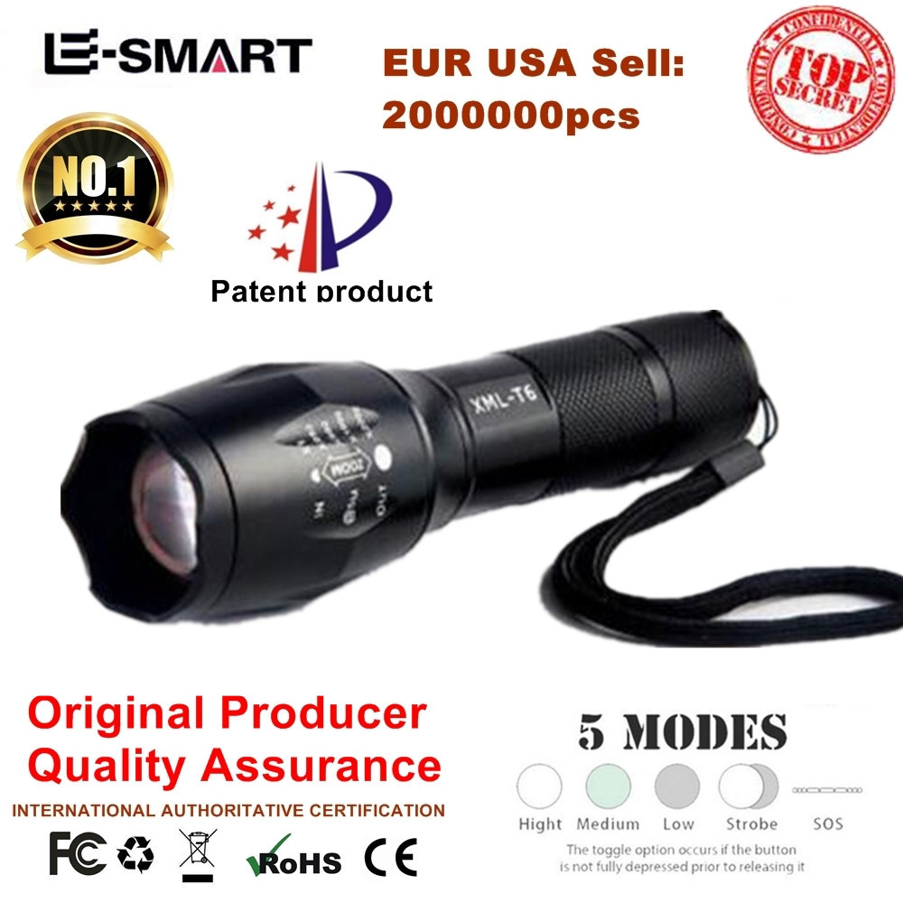 Lanterna CREE XM-L T6 3800LM Tactical Flashlight Torch Zoom Linternas LED Flashlight for 3xAAAor 18650 Rechargeable Battery lanterna cree xm l t6 4000lm tactical flashlight torch zoom linternas led flashlight 3xaaa or 1x 18650 rechargeable battery z45