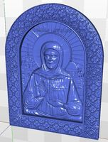 relief for cnc in STL file Icona_sv_Matrona_1 format 3d