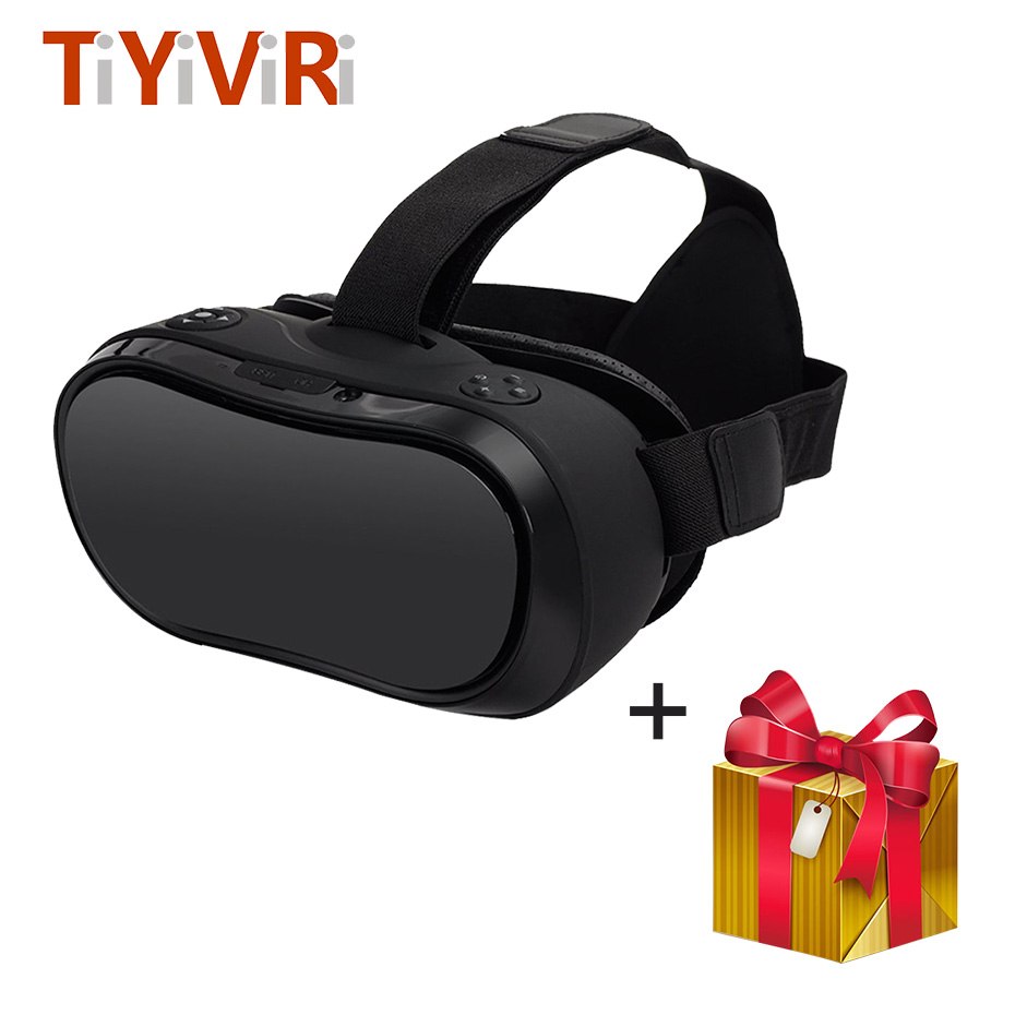 купить VR Headset VR Glasses Virtual Reality for PC PS Xbox HDMI All in one 3D Glasses 2560*1440 P ROM 2 GB RAM 16 GB Android 5.1 по цене 11723.45 рублей