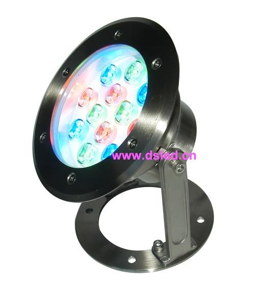 все цены на good quality,high power IP68,12W RGB LED pool light,RGB underwater LED light,12V DC,DS-10-27-12W,12X1W,stainless steel онлайн