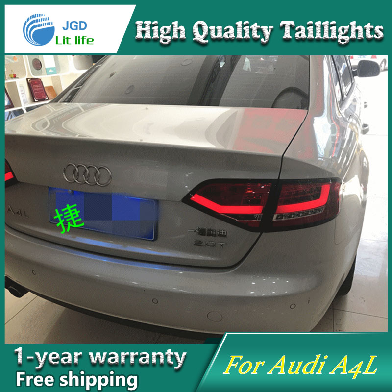 Car Styling Tail Lamp Case For Audi A4L A4 2008 2012 Tail