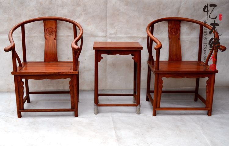 Mahogany furniture, rosewood chair Chinese antique wood palace