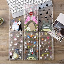 New Silicone Protective Cell Phone Case Cover Cartoon Pattern For Sony Xperia XA XP XZ XC Z5plus Shockproof Bag