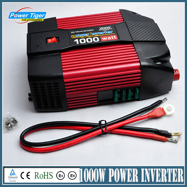 TBE 1000W DC 12V TO AC 220V Truck Power Inverter Charger Converter Adapter Modified sine wave With Usb Car Charger bestek 150w car power inverter 12v 220v dc ac converter 12v to 220v adapter 1 usb charging port charger auto power inverter
