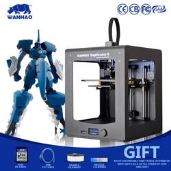 WANHAO D6 3D drukarki  najnowsza wersja metalowa rama zestaw Reprap z ładną figurę  wysoka precyzja  dobrej jakości maszyny dla majsterkowiczów