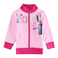 anna elsa jackets for girls girls fashion winter Coats Children's outerwear kids jackets baby clothing child Windbreaker Clothes