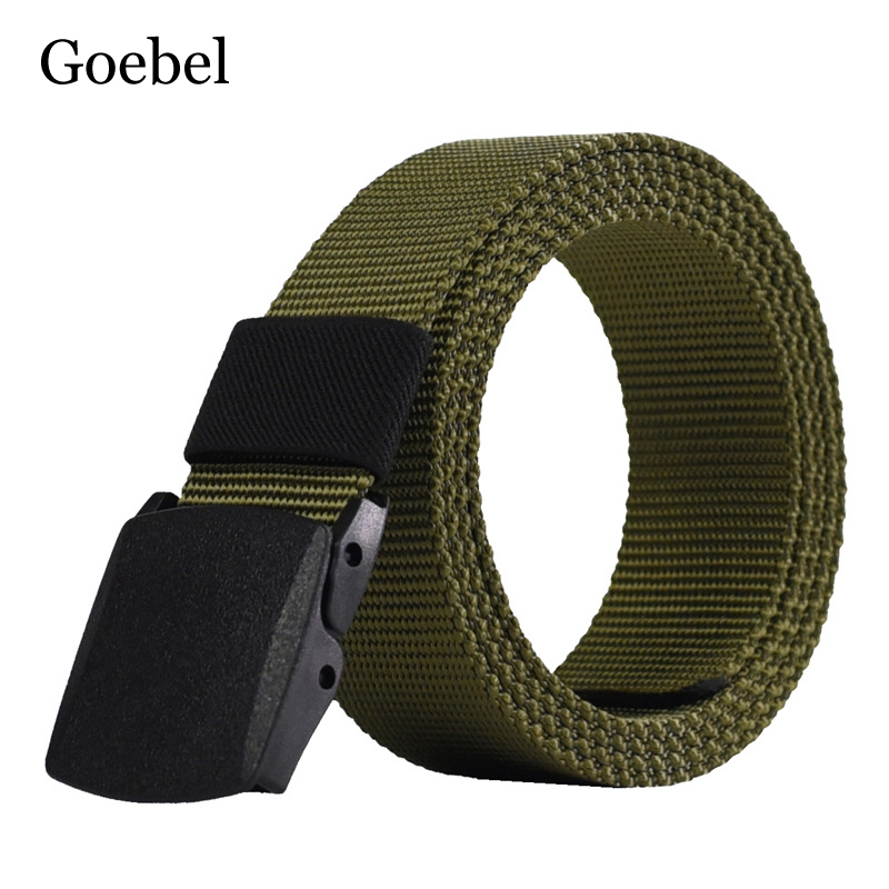 Goebel Canvas Belts Man Casual Practicals