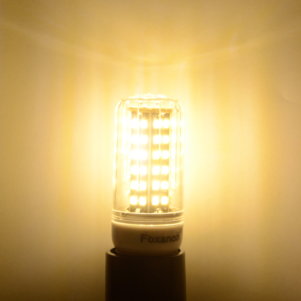 Lampada Led Lamp 110V 127V 220V E27 E14 Led Light 5730 SMD Bombillas LED Bulb Candle Luz Ampoule ...