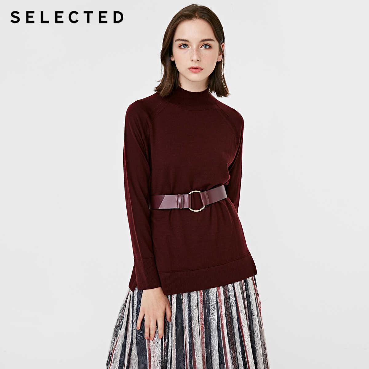 Выбранный новый стиль женский Итальянский мериносовой шерсти свитер SIG   418424516