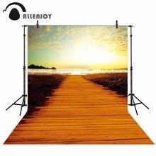 Allenjoy new arrivals fotografia photobooth cenário photo studio fundo Lago Pôr Do Sol Floresta belas natural de alta qualidade HD