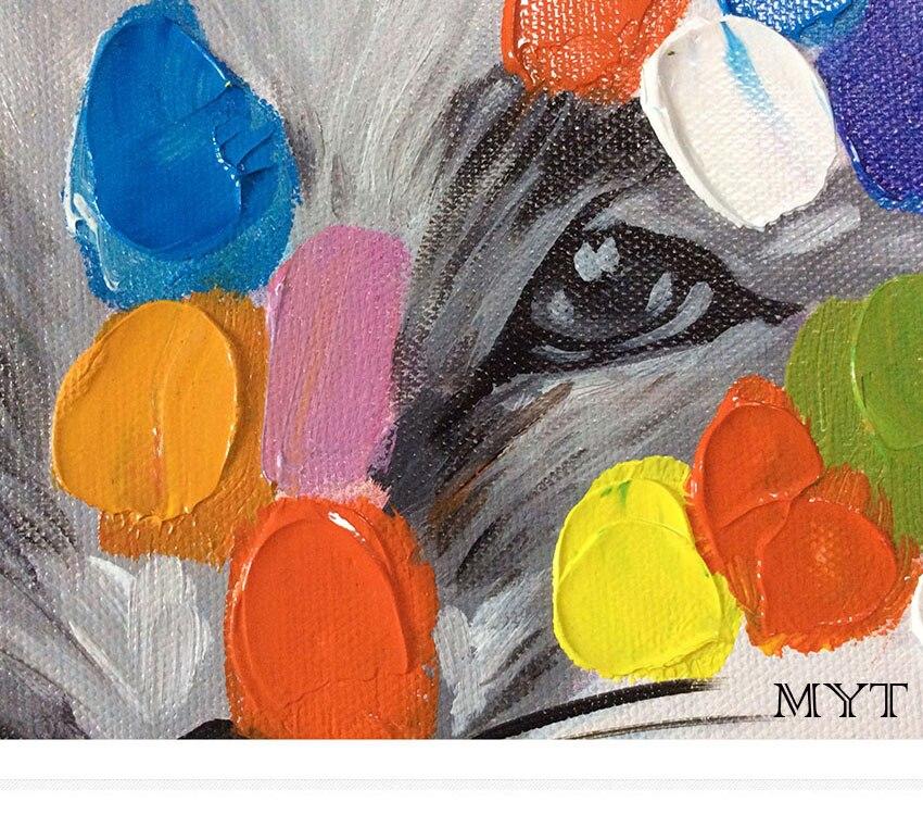 Cerdas de cerdo 4 Cepillos de pintura de Cabeza Plana para Manualidadesniños Cepillos de pintura