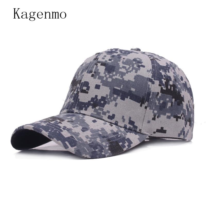 07b6a737ed6 Kagenmo Camouflage Male Female Summer Baseball Cap Fashion Army Hat Jungle Cap  Thin Cotton Adjustable Unisex