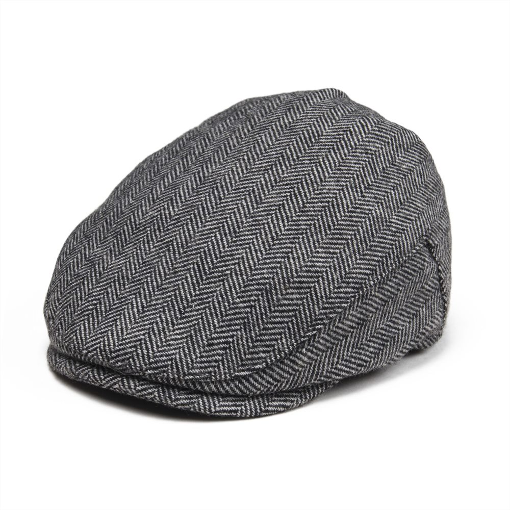 Kleidung & Accessoires Systematic Jangoul Kids Woollen Tweed Flat Cap Herringbone Boy Girl Newsboy Caps Infant Toddler Child Youth Beret Hat Small Size Gatsby 002 Attractive Fashion