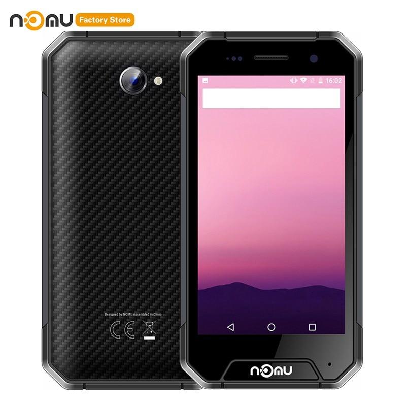Original NOMU S30 Mini 4G Smartphone 4.7'' Android 7.0 MTK6737VWT Quad Core 1.5GHz 3GB RAM 32GB ROM 8.0MP 3000mAh Cellphones